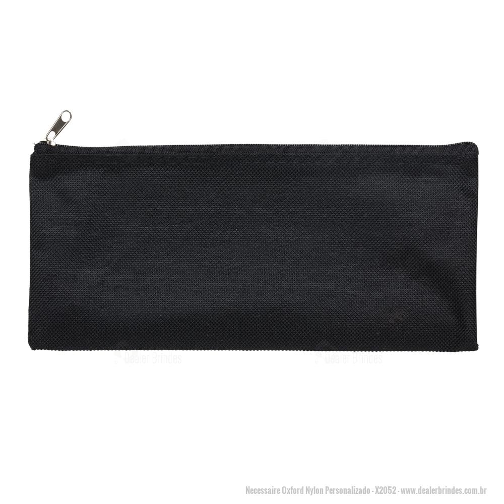 b081901c4763e6 Necessaire Oxford Nylon Personalizado - DEAX2052 - Dealer Brindes