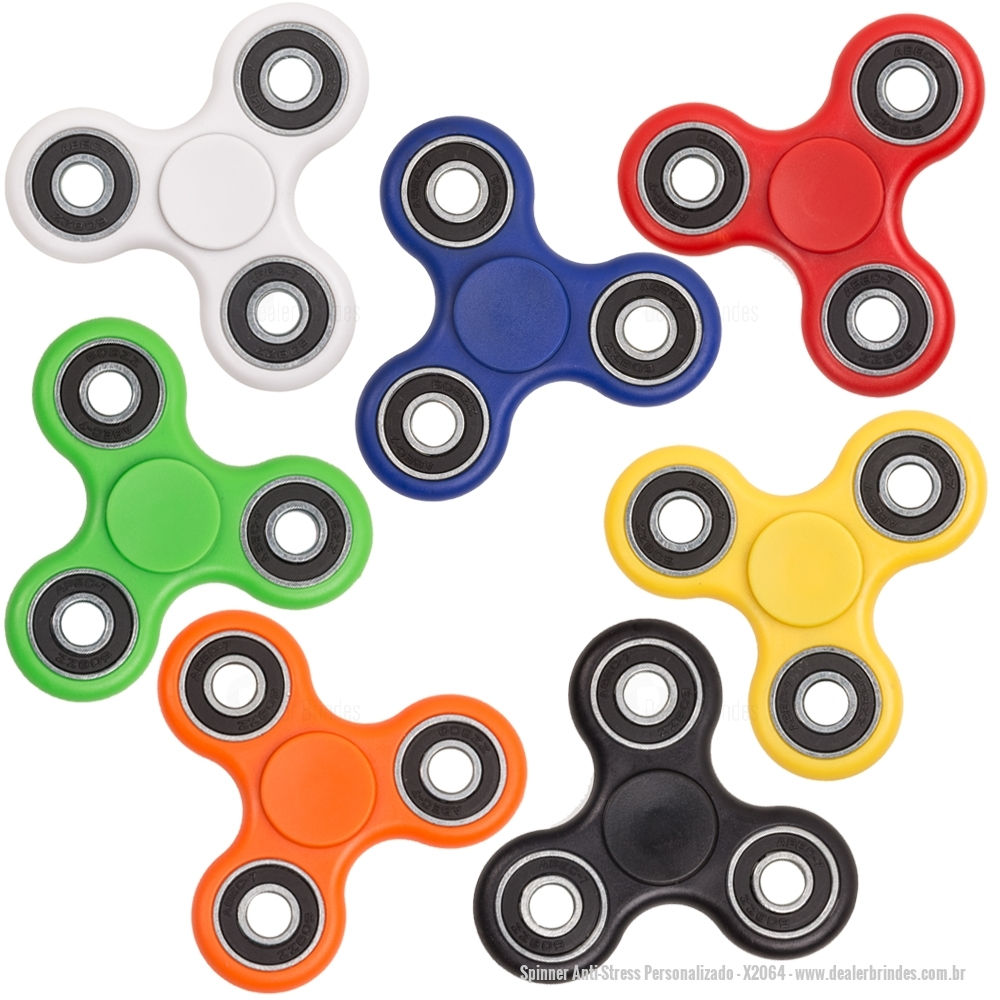 Spinner Anti-Stress Personalizado
